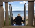 Vikingelegeplads Lundeborg 7 - rutschebane med udsigt